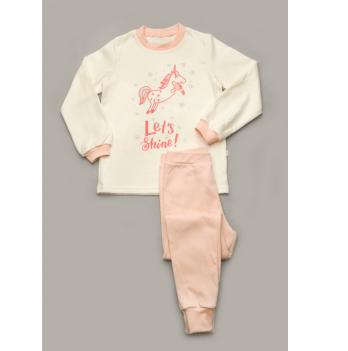 Пижама Модный карапуз, розовая