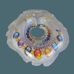 Круг BabySwimmer для детей от 0-24 месяцев и 3-12 кг, Леди