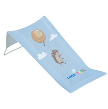 Лежак для купания из хлопка Tega baby Лесная сказка Голубой FF-026-108