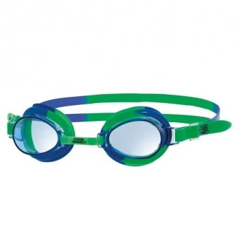 Очки для плавания Zoggs Little Swirl, возраст до 6 лет, зеленые
