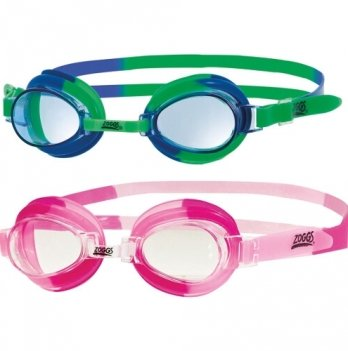 Очки для плавания Zoggs Little Swirl, возраст до 6 лет, розовые