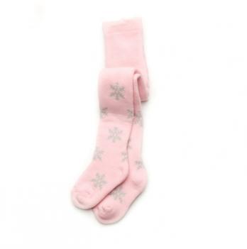 Колготы махровые для девочки Модный карапуз, розовые