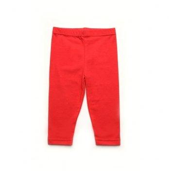 Лосины для девочки Модный карапуз ТМ Красный 03-00875
