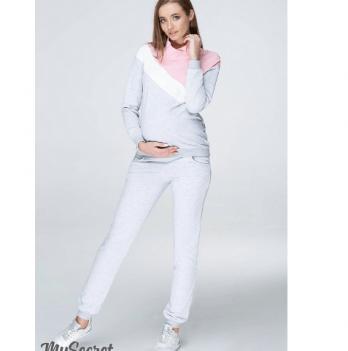 Спортивный костюм для беременных и кормящих мам MySecret, розовый