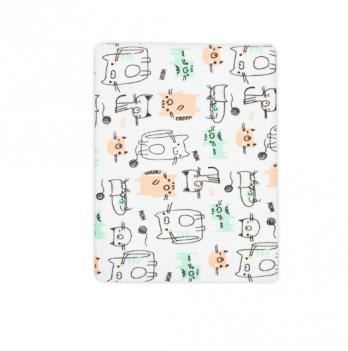 Пеленка для новорожденного Smil Кошки 90х80 см