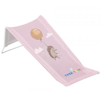 Лежак для купания из хлопка Tega baby Лесная сказка Розовый FF-026-107