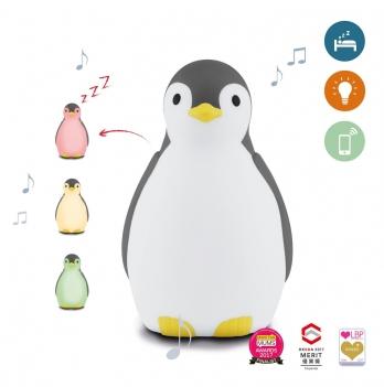 Светильник-ночничок Пингвиненок Zazu ZA-PAM-01 серый