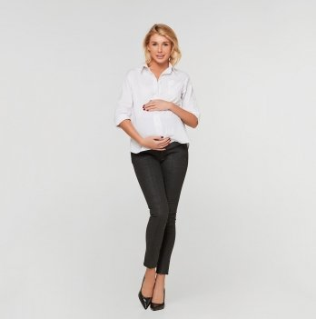 Брюки для беременных Lullababe Chicago Темно-серый LB10CH101-DM