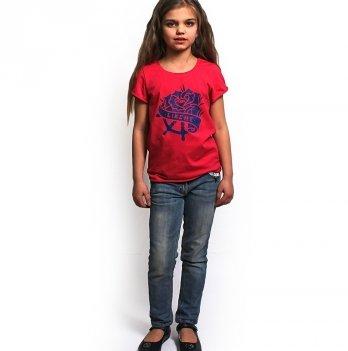 Футболка детская Модный карапуз LikeMe Малиновый 111-00008
