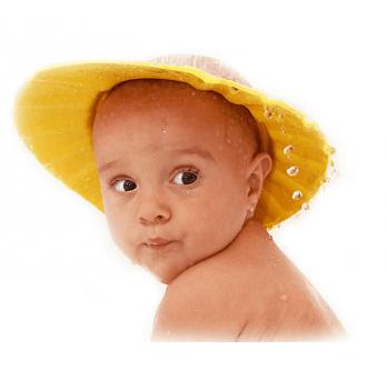 Шляпка для купания BABY TEAM 7400 желтый