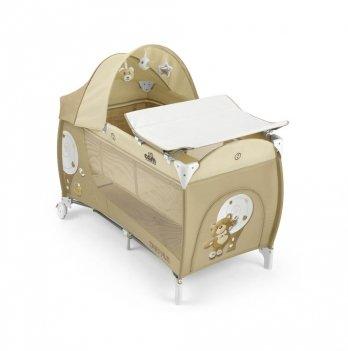 Кровать-манеж Cam Daily Plus, бежевый
