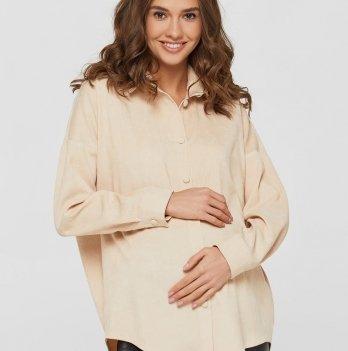Рубашка для беременных и кормящих мам Lullababe Varna Айвори