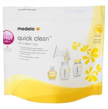 Пакеты для стерилизации Medela Quick Clean Microwave Bags 5 шт.