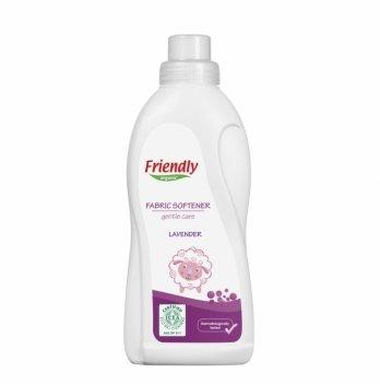 Смягчитель для стирки Friendly Organic, Fabric Softener (Lavender), Лаванда, 750 мл