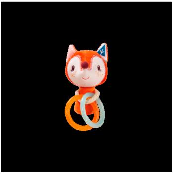 Мини-погремушка Lilliputens лисичка Алиса