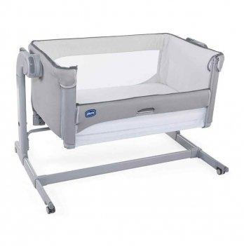 Детская кроватка Chicco Next2Me Magic Серый 79584.19