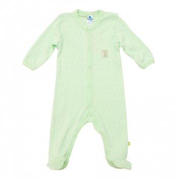 Человечек Minikin зеленый ажурный ластик