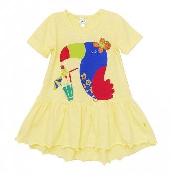 Платье Minikin Желтое Тукан