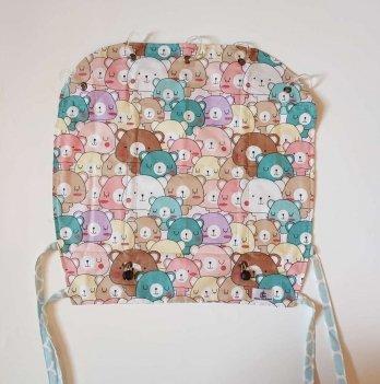 Защитная шторка на коляску Merrygoround Bear pink ST_07