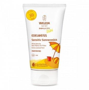 Солнцезащитное молочко Weleda SPF30, 150мл