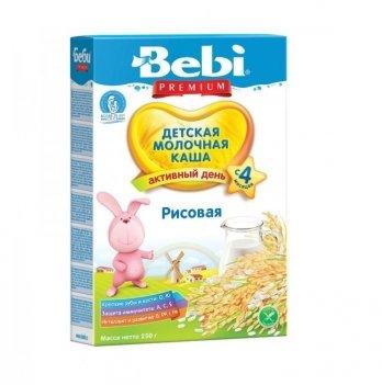 Каша рисовая Kolinska Bebi PREMIUM, молочная, 250 г