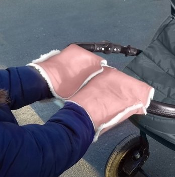Муфта-трансформер два в одном Winter Muff Ontario Baby ART-0000295 розовый