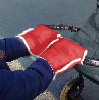 Муфта-трансформер два в одном Winter Muff Ontario Baby ART-0000294 красный