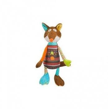 Мягкая игрушка с погремушкой BabyOno Забавный Лисенок, 1244