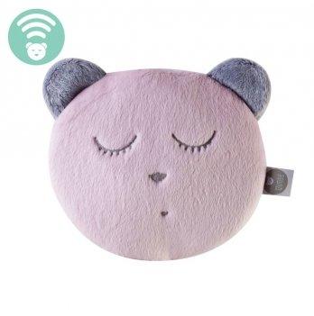 Игрушка для сна с белым шумом MyHummy, Sleep Head/ Браслет розовый
