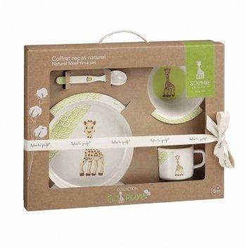 Набор посуды Vulli Sophie la girafe, из бамбукового волокна