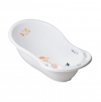Ванночка детская с термометром Tega baby Белый 86 см FL-004-103
