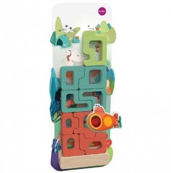 Настенная игрушка-пазл Oribel Veritiplay Загадочный аквариум
