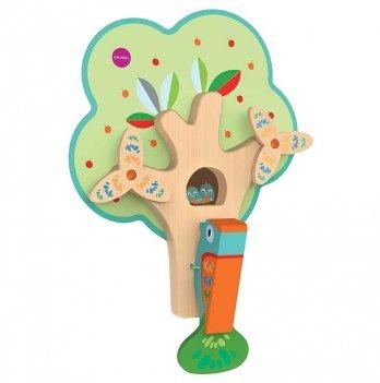 Настенная игрушка Oribel Занятый дятел
