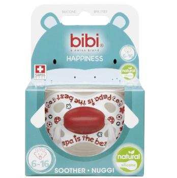 Счастье-пустышка с колпачком bibi® натурал