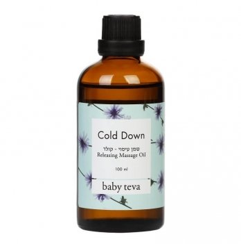 Согревающее масло Cold Down, Baby Teva