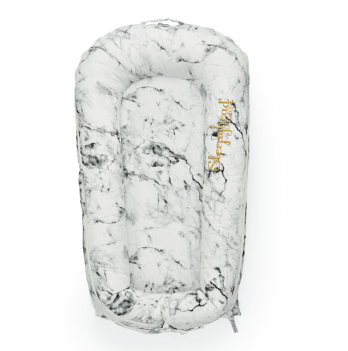 Кокон для младенца SleepyHead DeLuxe+ (0-8 мес), Carrara Marble