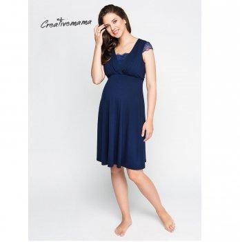 Платье домашнее Creative Mama для беременных и кормящих Royal