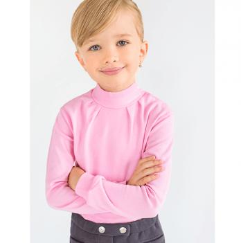 Гольф для девочки Модный карапуз, розовый