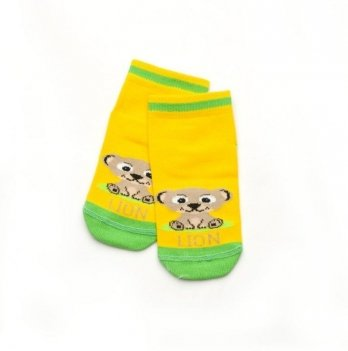 Детские носочки для малышей Модный карапуз Lion Желтый 101-00812