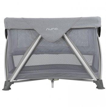 Манеж-кровать Nuna Sena Aire Aspen, серый