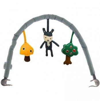 Дуга с игрушками Nuna Toy Bar For Leaf/Leaf Curv/Leaf Grow Cinder