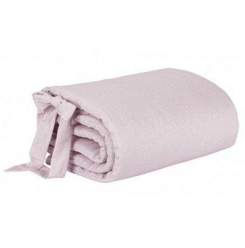 Бортики в кроватку by M. Socha Effiki розовые в крапинку
