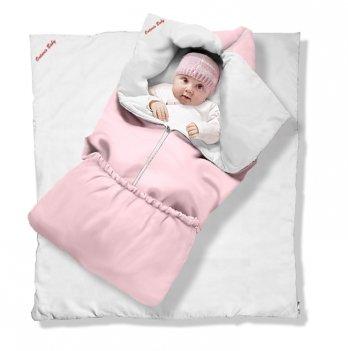 Одеяло-трансформер Котенок Classic Ontario Baby силикон 300, розовый ART-0000051