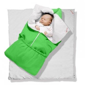 Одеяло-трансформер Lime Green Classic Ontario Baby силикон 300, салатовый ART-0000344