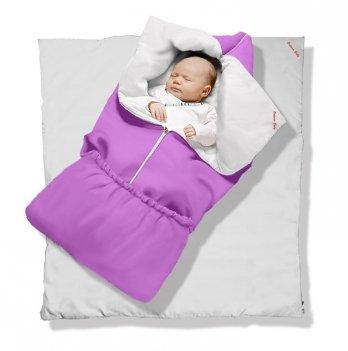 Одеяло-трансформер Violet Classic Ontario Baby силикон 300, фиолетовый ART-0000345
