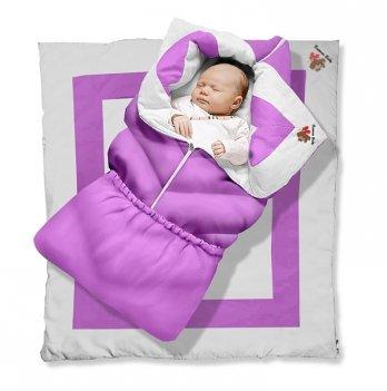Одеяло-трансформер Violet Elite Ontario Baby силикон 300, фиолетовый ART-0000349