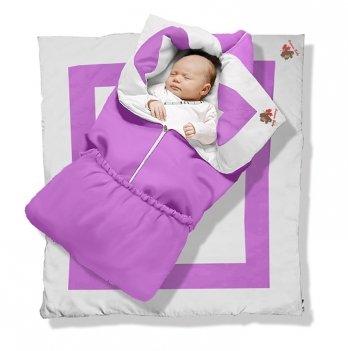 Одеяло-трансформер Violet Premium Ontario Baby силикон 300, фиолетовый ART-0000347