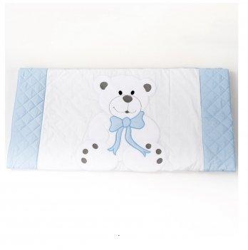 Одеяло-плед ТМ Sasha Мишка Голубой 111/7 80х120 см