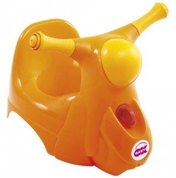 Горшок детский Okbaby Scooter, с звуковой фарой