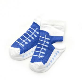 Носочки для новорожденного мальчика Модный карапуз, синие